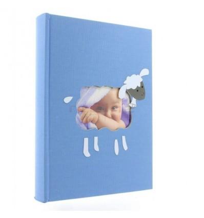 ALBUM FOTO X-RED SHEEP, 10X15, 300 POZE - ALBASTRU