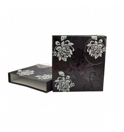ALBUM FOTO X-RED BLACK&WHITE 10X15, 500 POZE, HUSA CARTONATA