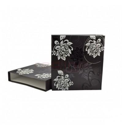 ALBUM FOTO X-RED BLACK&WHITE 10X15, 500 POZE, HUSA CARTONATA