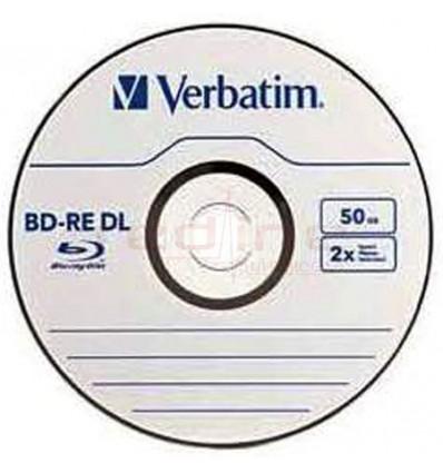 Blu-Ray Disc Blank Rewritable DL Verbatim 2x 50GB