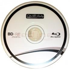 BluRay Disc BD-RE Rewritable Omega 2x 25GB Blank