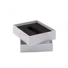 Carcasa USB din carton cu capac, de culoare alba box-06