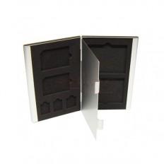 Port Card  SD microSD CF Metalic Adisc ADCP01
