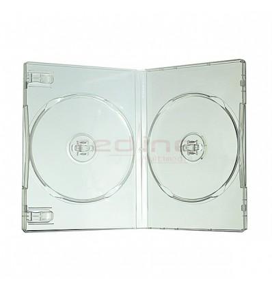 Carcasa DVD Normala Dubla Transparenta calitate superioara SUPER CLEAR