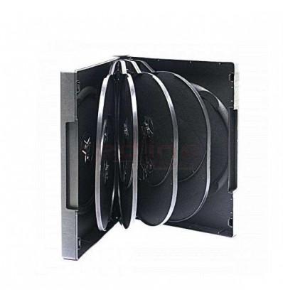 Carcasa DVD Multi 10 Neagra 33mm