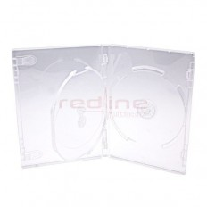 Carcasa DVD Multi 3 Transparenta ELITE cu tavita Super Clear