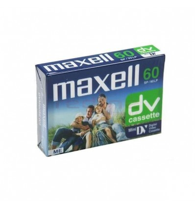 Caseta miniDV Maxell 60 min DVM60SE