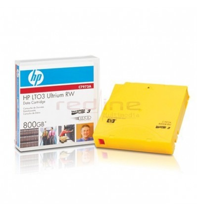 Data Cartridge HP LTO-3 Ultrium, 800Gb, RW, 1 pack, C7973A