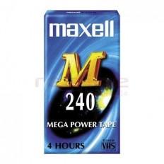 Caseta Video Maxell VHS 240 min E-240M