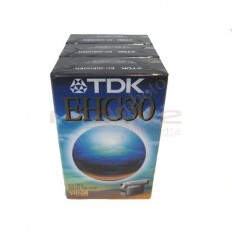 Caseta Video TDK VHS-C 16mm HS 30 min EC-30EHGEN