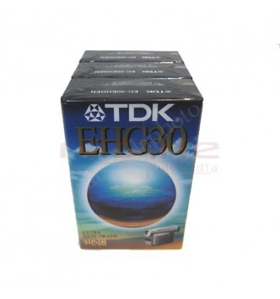 Caseta Video TDK VHS-C 16mm HS 30 min EC-30EHGEN