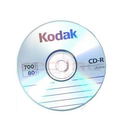 CD-R Kodak 700mb 1-52x 80min
