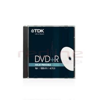 DVD+R Printabil TDK Blank ,16x 4,7GB J.C.