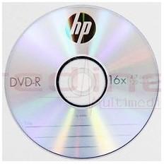 DVD-R Blank HP 16x 4,7GB 120 min