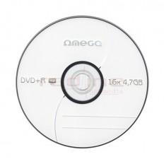 DVD+R Blank Omega 16x 4.7GB 120min