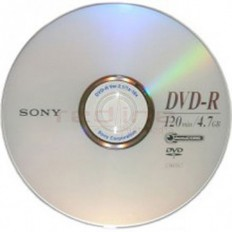 DVD-R Blank Sony 16x 4,7GB 120 min