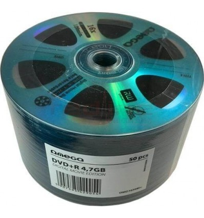 DVD+R BLANK OMEGA MOVIE EDITION 16X 4,7GB 120 MIN