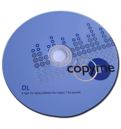 DVD+R Dual Layer Blank Copyme 8.5GB 8x