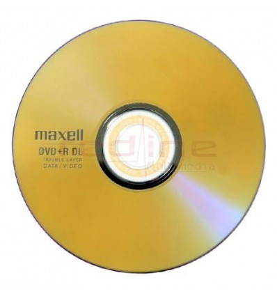 DVD+R Blank Dual Layer Maxell 8x 8.5GB