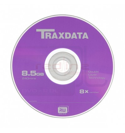 DVD+R Blank Dual Layer Traxdata 8x 8.5GB