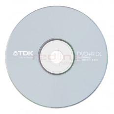 DVD+R DL Dual Layer TDK Blank 8x 8.5GB
