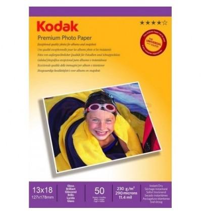 Hartie Foto Kodak Glossy 230g/m2, 13x18, top 50 coli