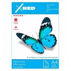 Folie Foto Laser X-Red, Opaca, Printabila, A4, 100 microni