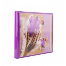 Album Foto X-Red Flower Violet Tulip, cu spatiu notite, 500 poze, 10x15