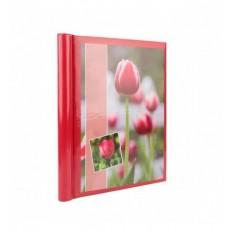 Album Foto X-Red Red Flower, file autoadezive, 20 pagini, 23x28