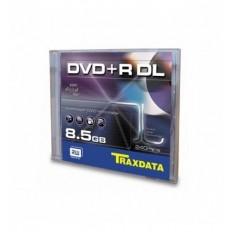 Traxdata DVD+R DL, Jewel Case, 8.5 GB, 240 min, 8X