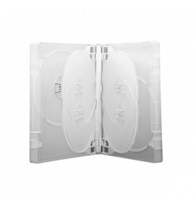Carcasa DVD Multi 8 Transparenta cu 3 tavite