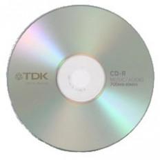 CD audio blank TDK 80min , 700MB