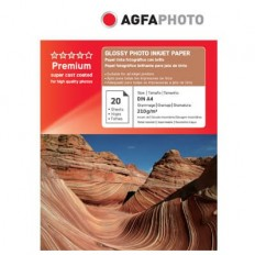 HARTIE FOTO AGFA GLOSSY INKJET A4 210G/20COLI