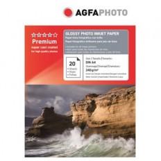 HARTIE FOTO AGFA GLOSSY INKJET A4 240G/20COLI