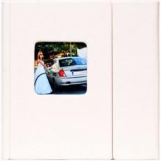 Carcasa 4 DVD Piele Ecologica , culoare alba