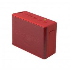 Boxa Portabila Creative Muvo 2C Stereo BLUETOOTH 2inPair Speakers, rosu, portabil